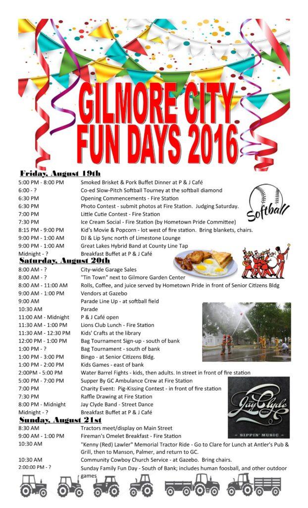 Gilmore City Fun Days @ Gilmore City | Iowa | United States
